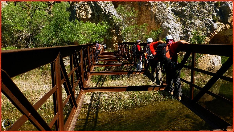 Paso sobre el Río Cabriel
