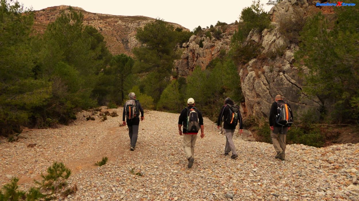Entrada al Barranco del Salto del Caballo