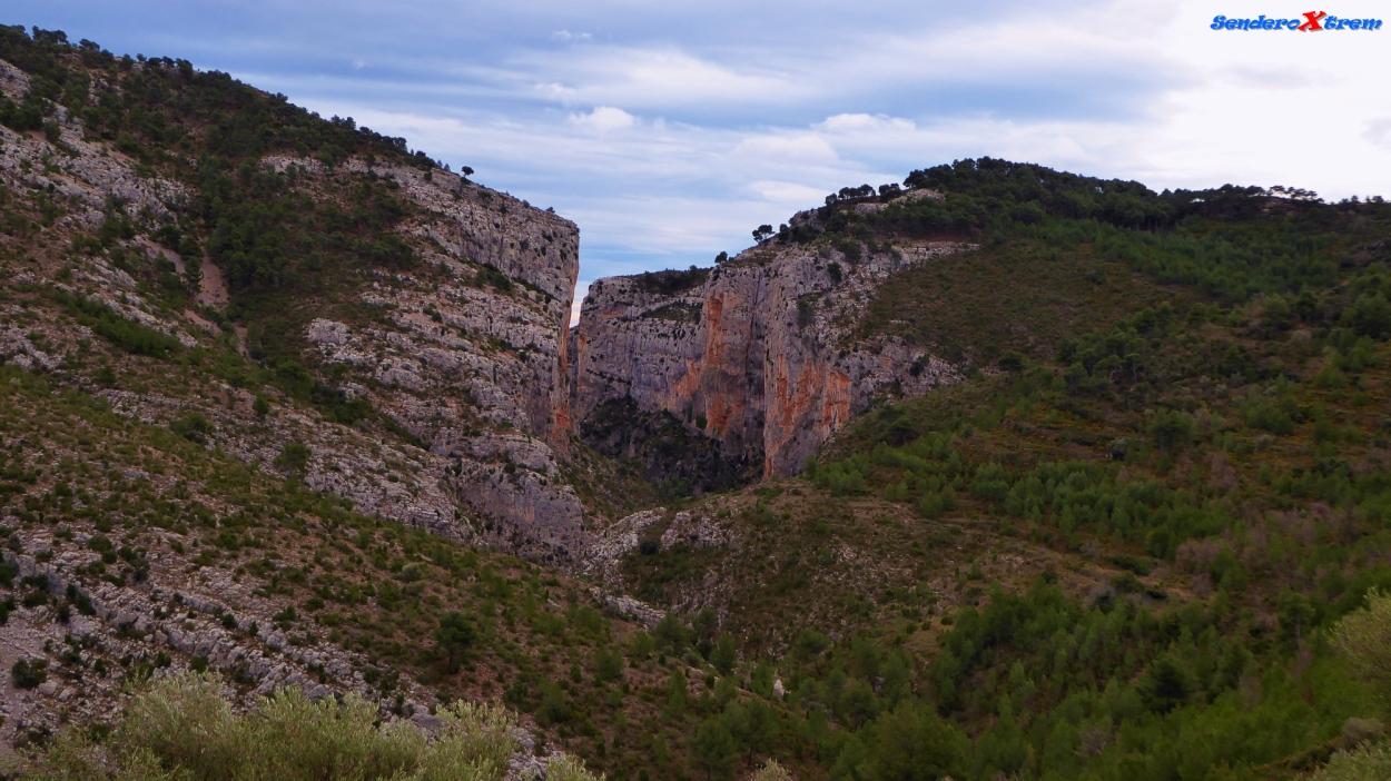 Vista del Barranco Salto del Caballo
